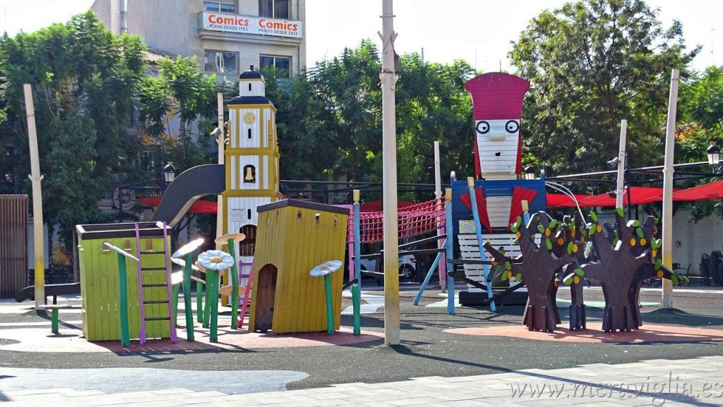 Parque de la Plaza del Prado, Gandia