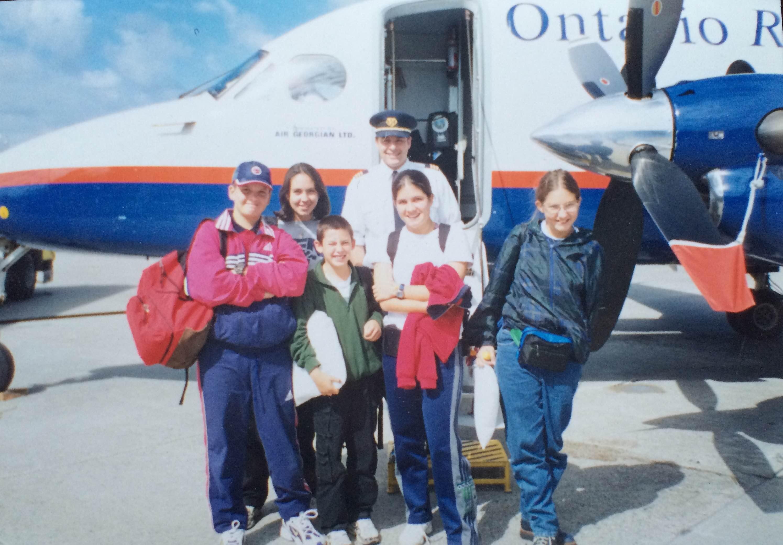 Foto Avión Aeropuerto de Sudbury