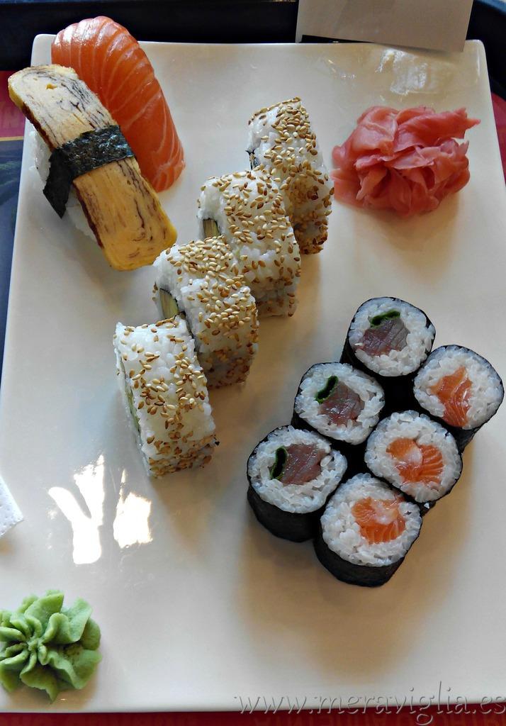 sushi praga meraviglia