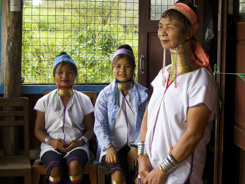 mujeres jirafas Tailandia
