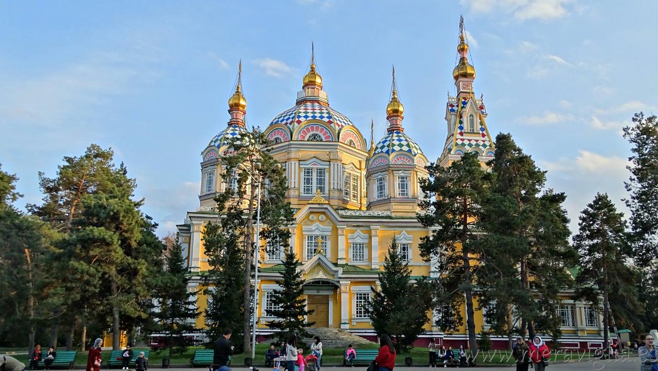 La catedral de madera de Almaty