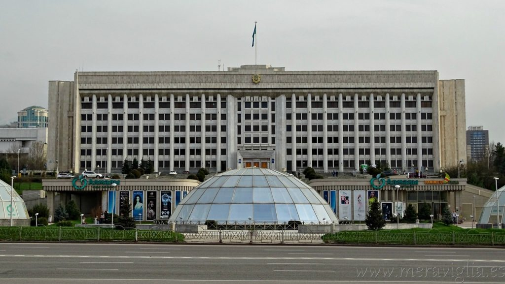 Antigua residencia presidencial, Almaty