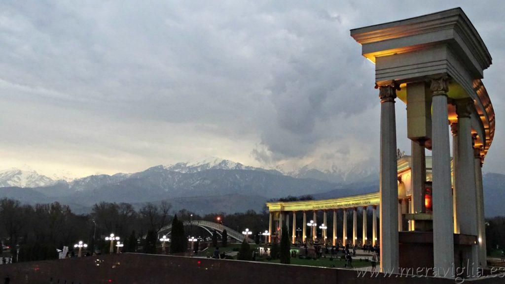 Parque del Primer Presidente, en Almaty