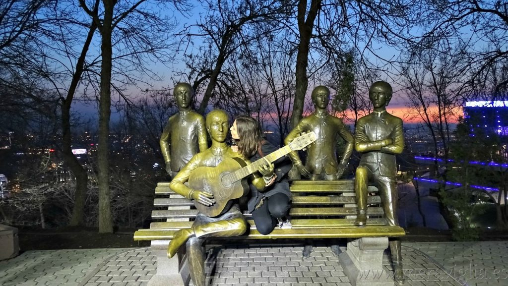 The Beatles en Almaty