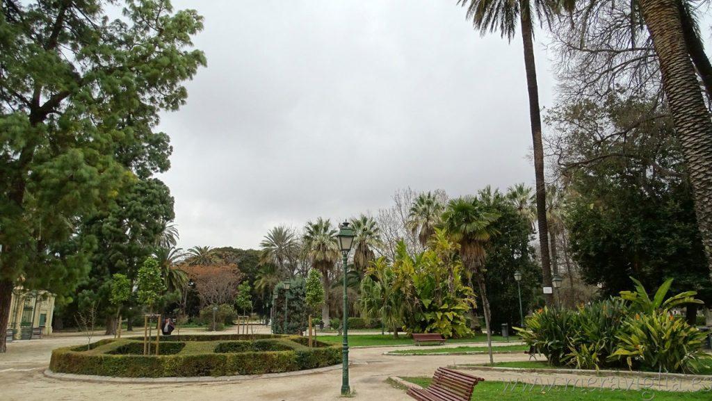 Jardines de Vivieros, valencia