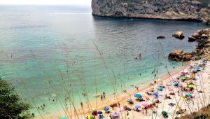 Cala Ambolo, Jávea: ideal para hacer snorkel