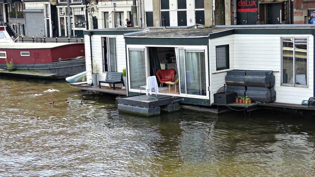 Casa barco Amsterdam