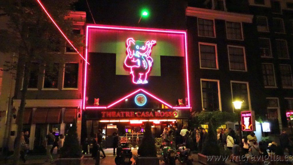 Theatre Casa Rosso Amsterdam