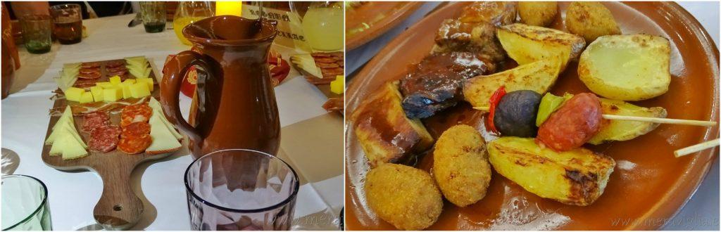 La cena medieval