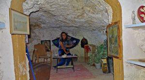 Las casas-cueva y mina de Libros, Teruel