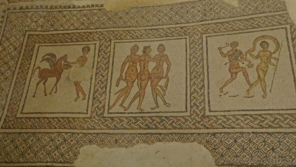 Mosaico Villa Romana Puente Genil