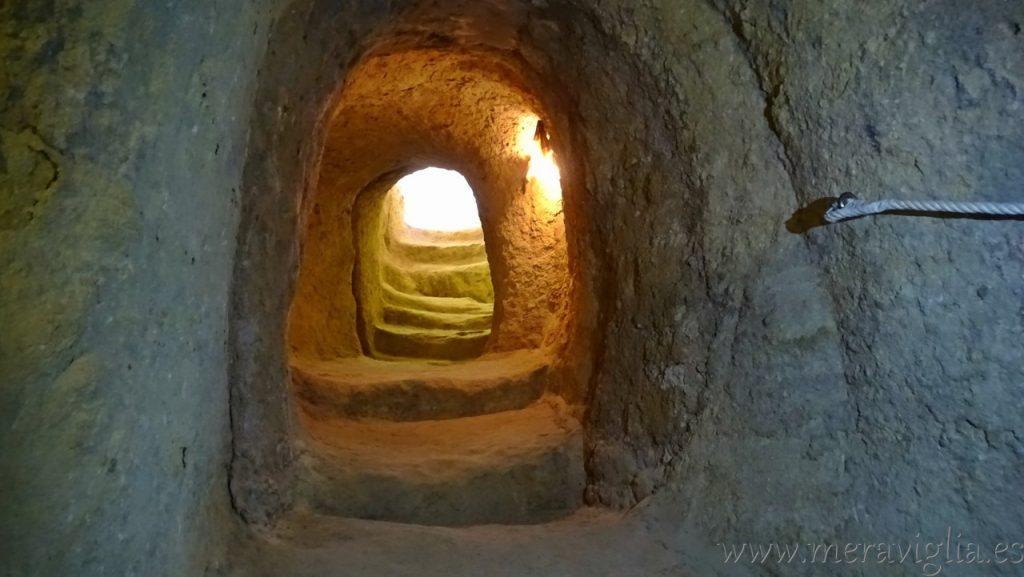 Tuneles Fortaleza de la Mota, Alcala la Real