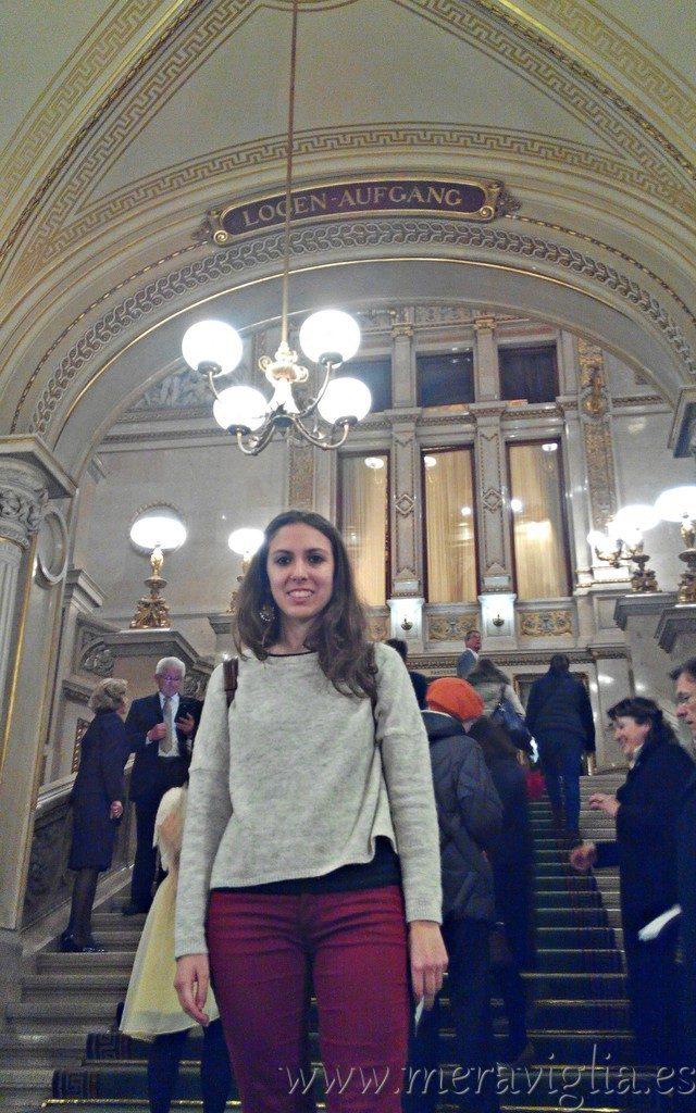 Visitando la Opera de viena
