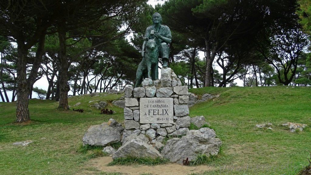 Feliz Rodriguez de la Fuente, Magdalena, Santander
