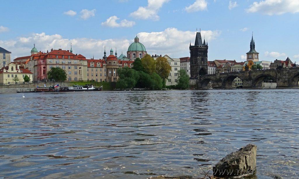 Las bonitas vistas de Praga