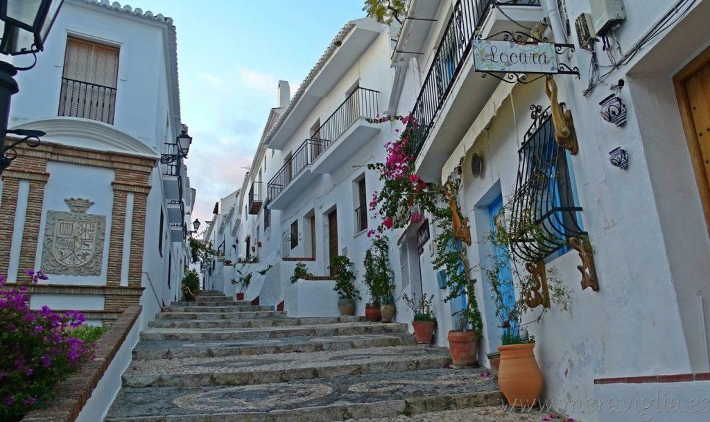 Las calles de Frigiliana, Malaga