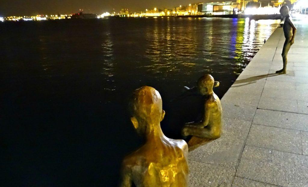 Monumento a los Raqueros, Santander