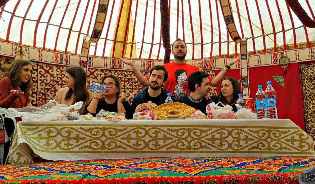 Yurta kazaja tradicional