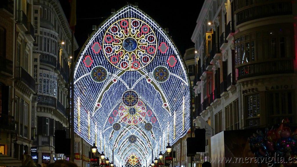 Calle Larios en Navidad, Malaga