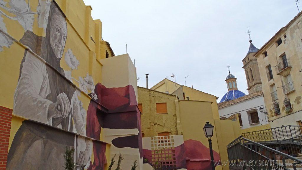 Graffiti en la Villa de Requena