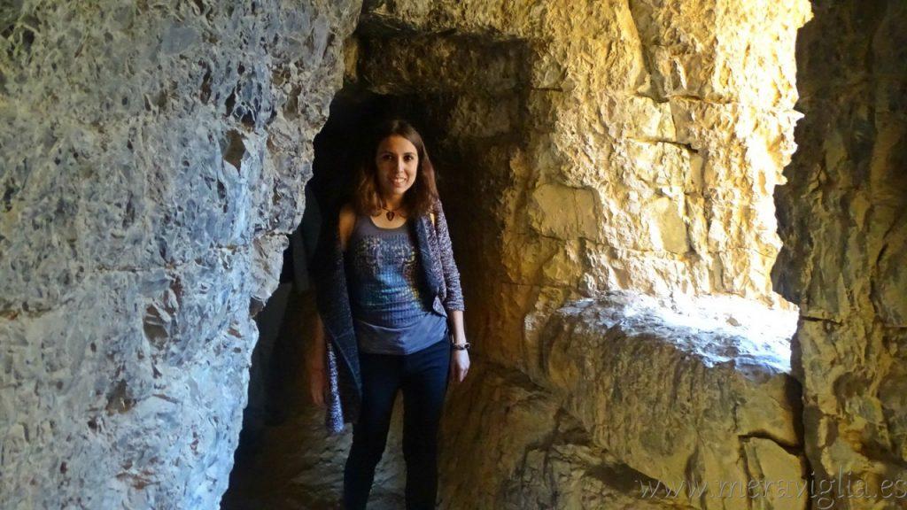 Interior del Acueducto Albarracin-Cella