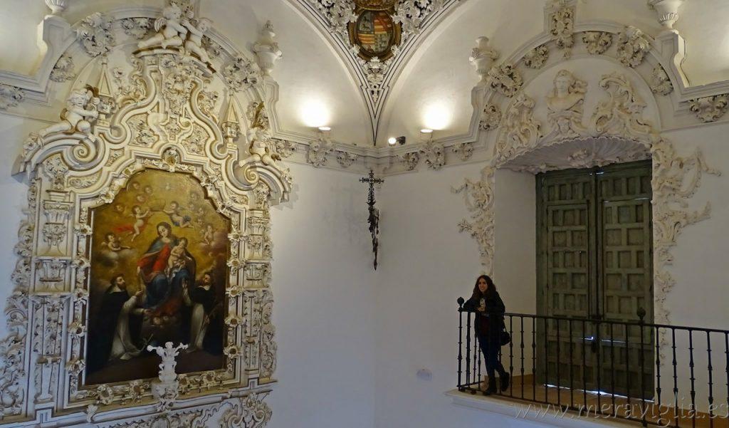 Interior del Palacio de Penaflor, Ecija