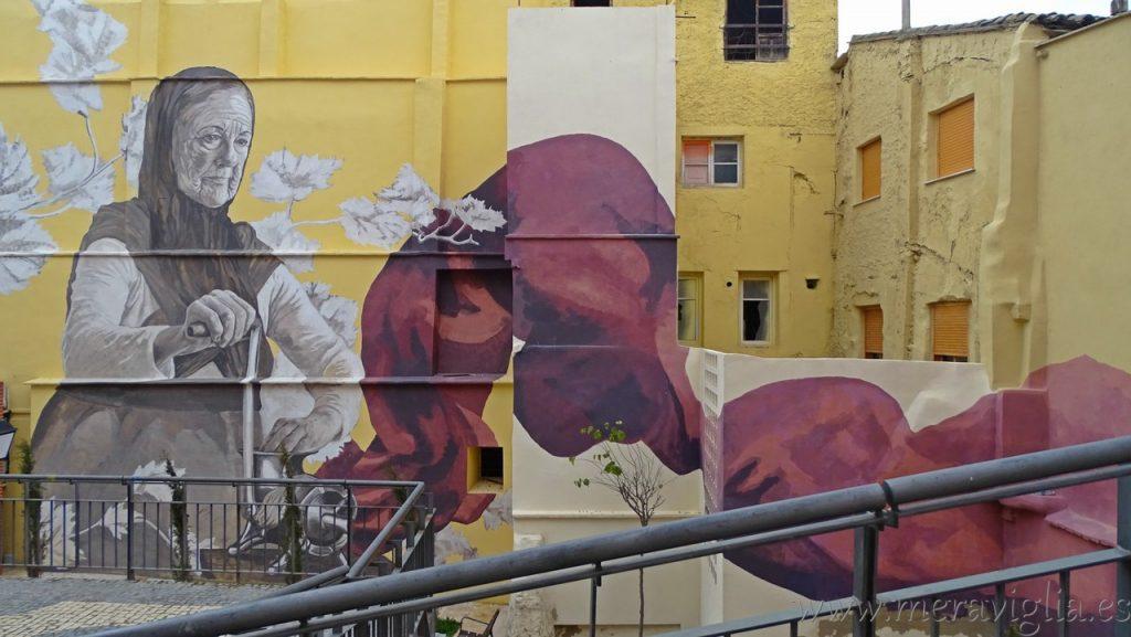 Mural gigante de Requena