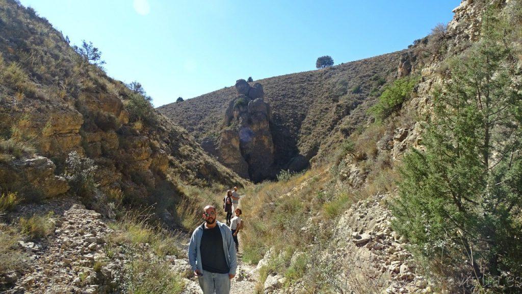 Ruta al acueducto de Albarracin-Cella