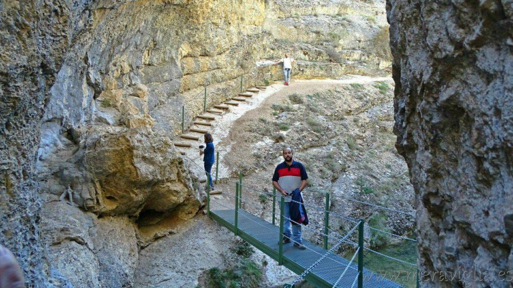 Ruta del Barranco de la Hoz, Calomarde