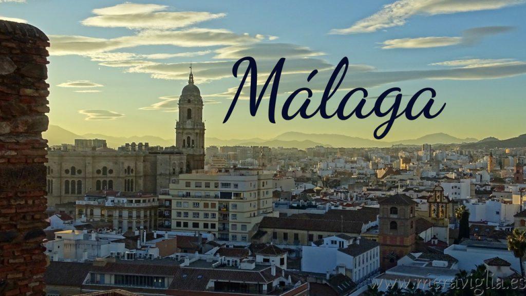 Vistas de la ciudad de Malaga