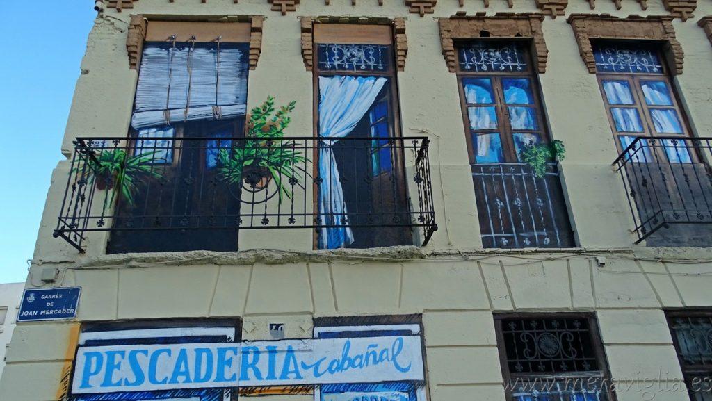 Arte urbano en el Cabanyal, Valencia