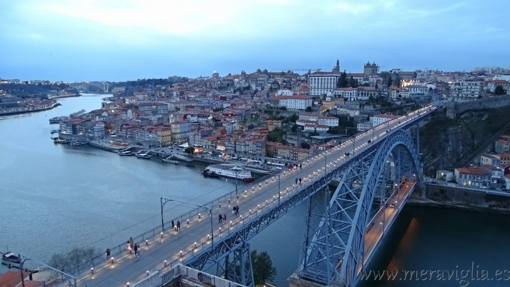 Atardecer en Oporto, Portugal