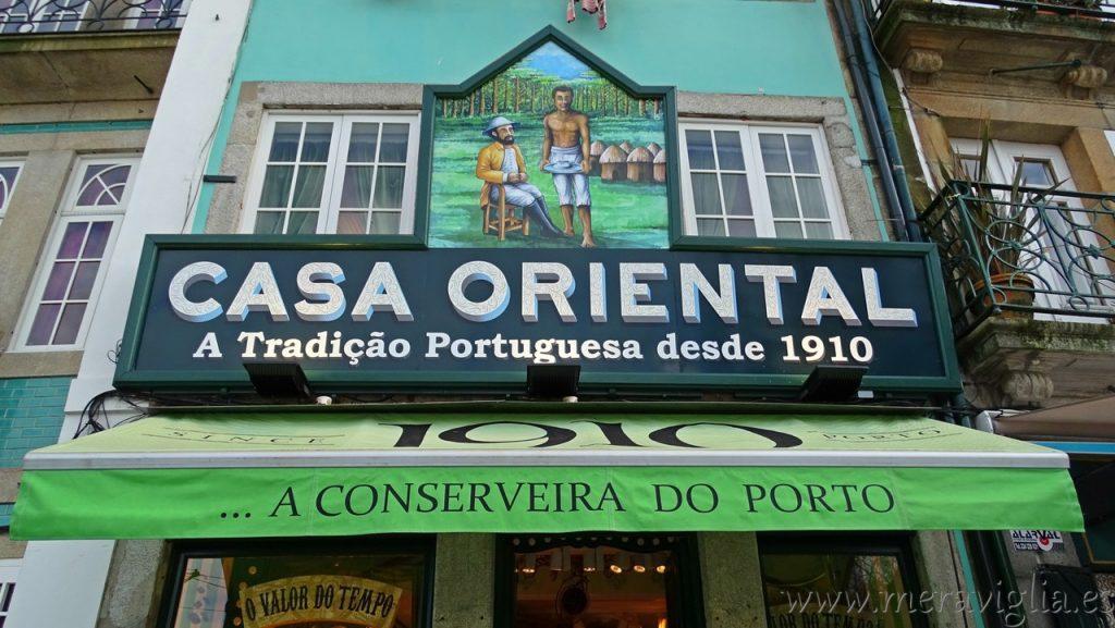 Casa Oriental, Oporto