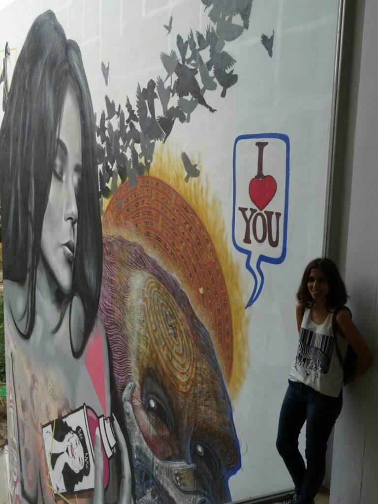 Graffiti Carmen Valencia