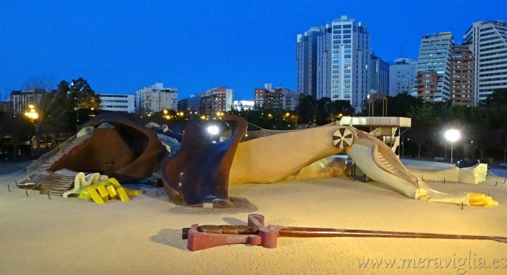Parque de Gulliver, Valencia