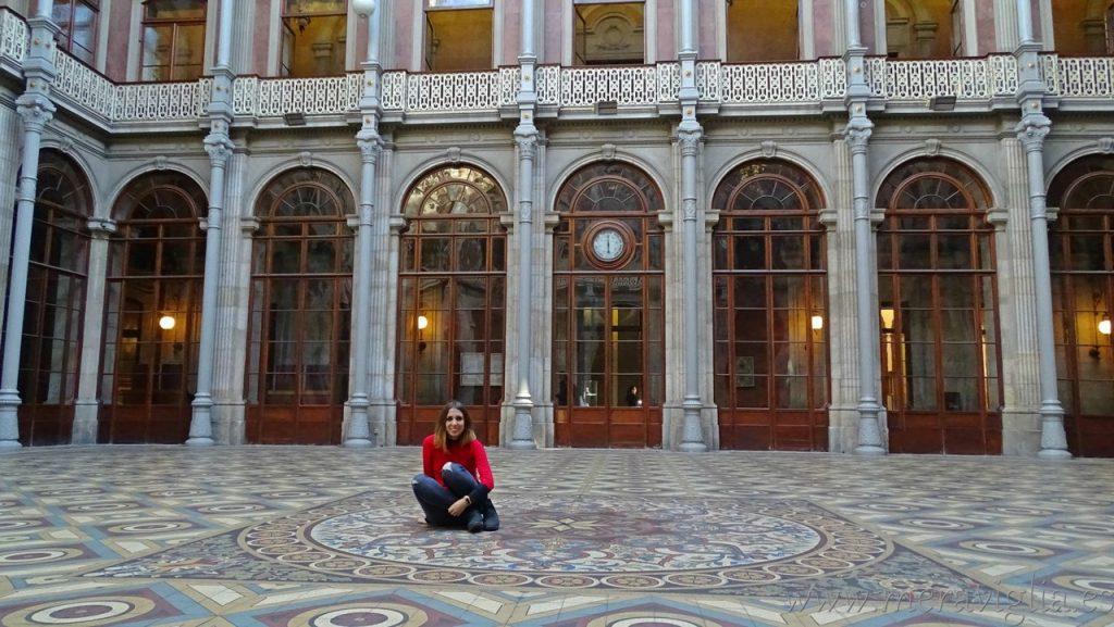 Patio de las Naciones, Palacio de la Bolsa, Oporto