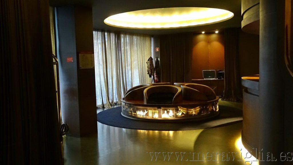 Recepcion Hotel Teatro Porto