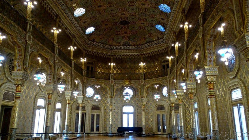 Salon Arabe, Palacio de la Bolsa, Oporto