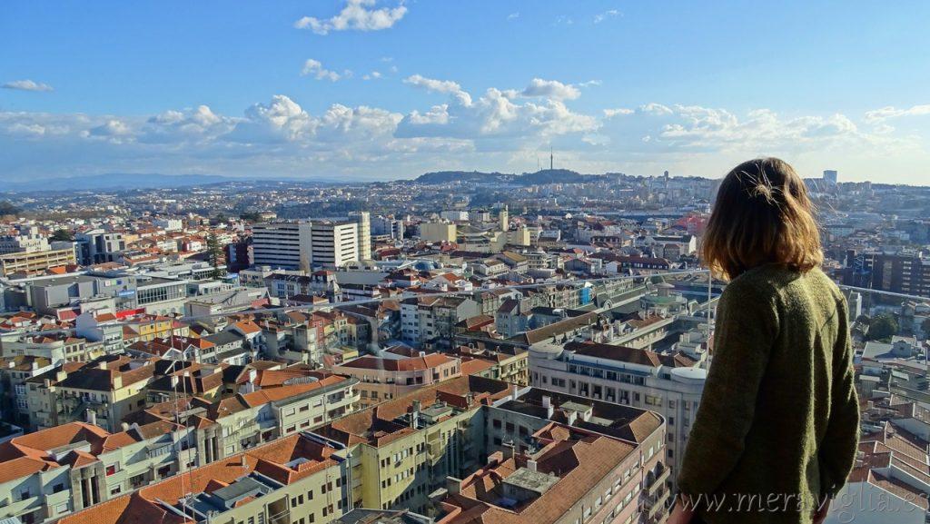 Vistas desde el Hotel Dom Henrique, Oporto