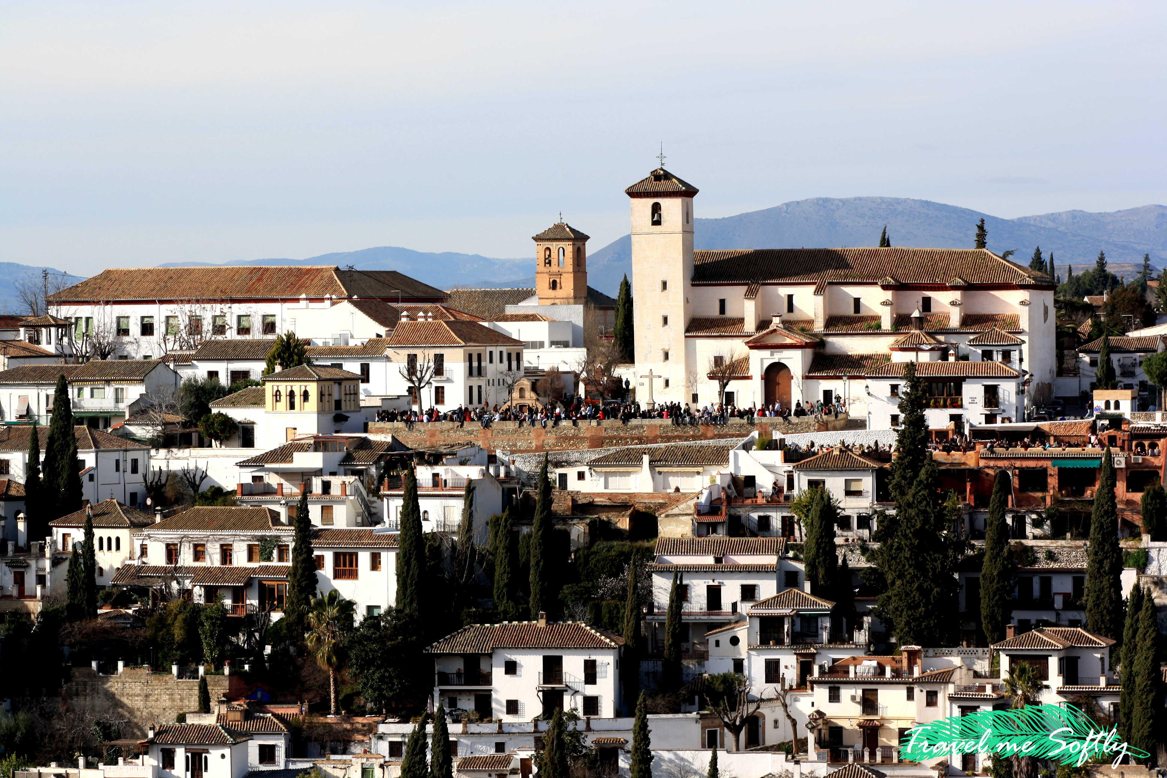 mirador de San Nicolas desde la Alhambra