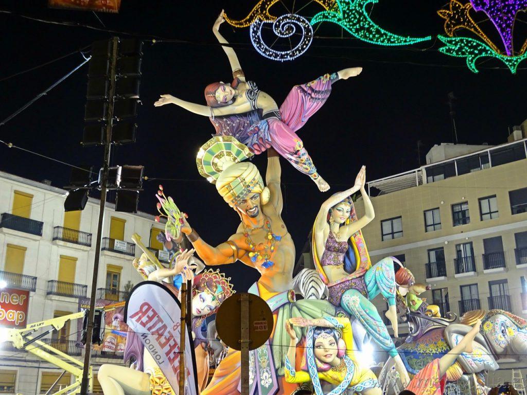 El origen de las Fallas de Valencia