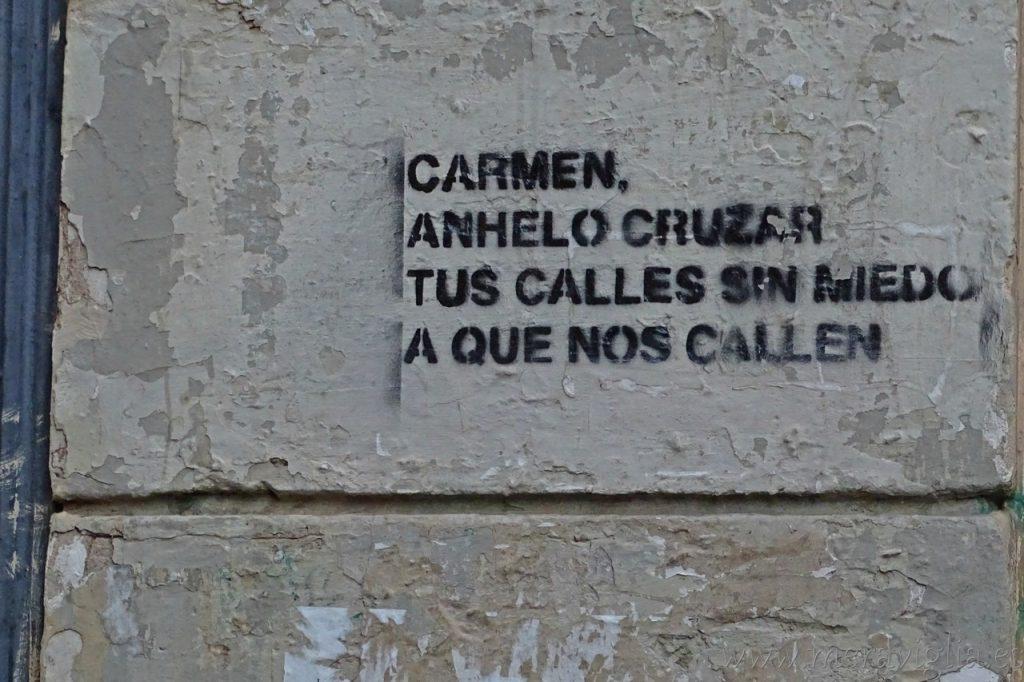 Mensaje en El Carmen, Valencia