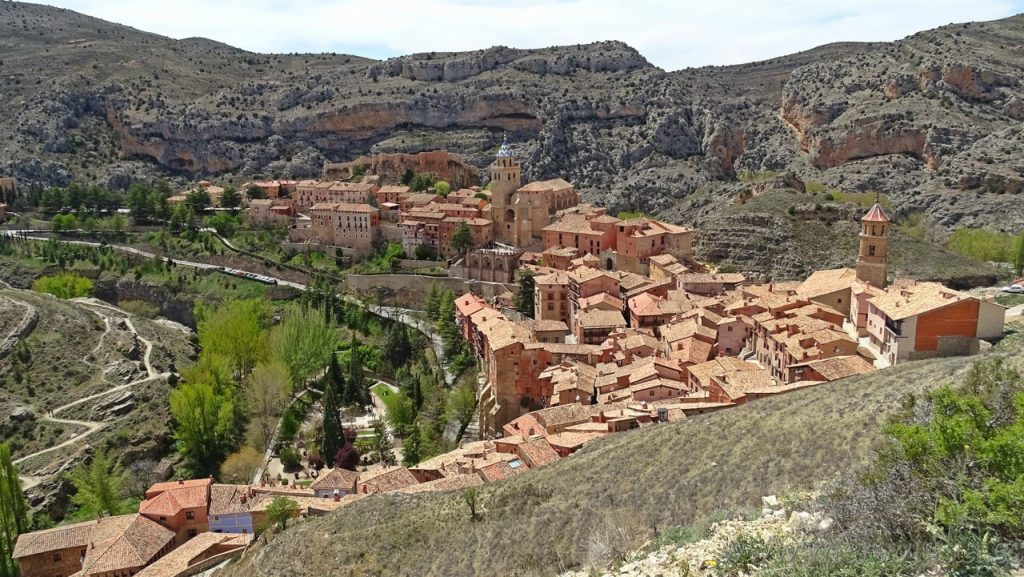 Vistas de Albarracin, Teruel