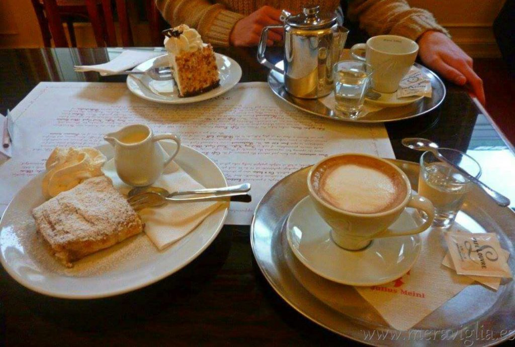 El Cafe Louvre, en Praga