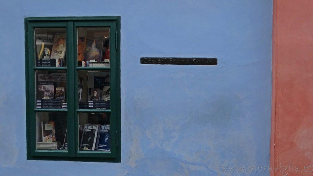Kafka, Callejon del Oro, Praga
