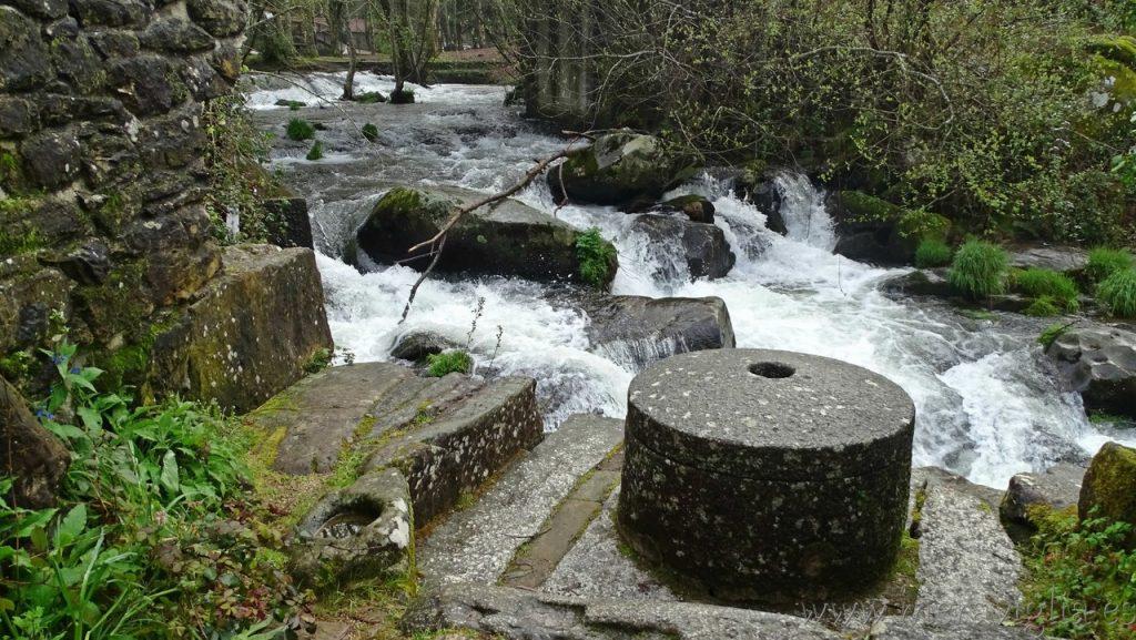 Norias del rio Barosa, Galicia