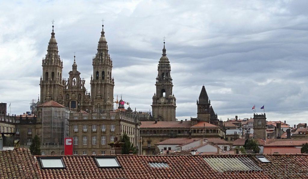 Vistas Catedral de Santiago de Compostela