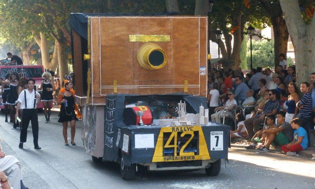 Rallye Humoristico Requena Valencia
