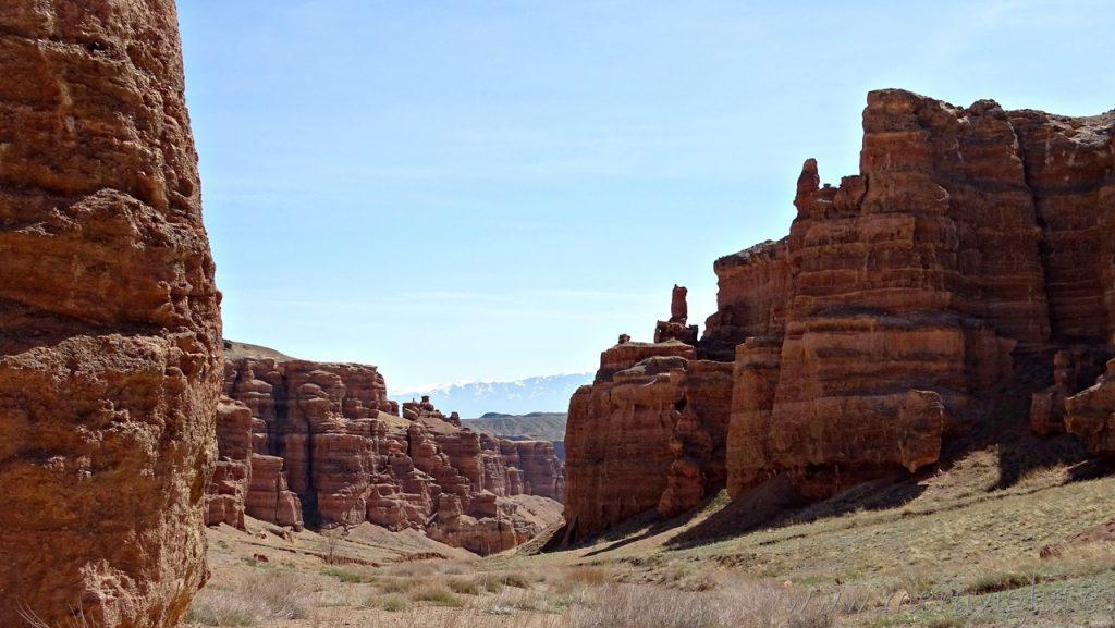 El asombroso paisaje del Charyn Canyon