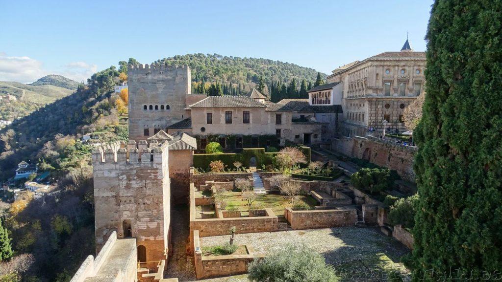 Exterior de la Alhambra